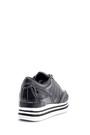 5638121163 Kadın Yılan Derisi Detaylı Sneaker