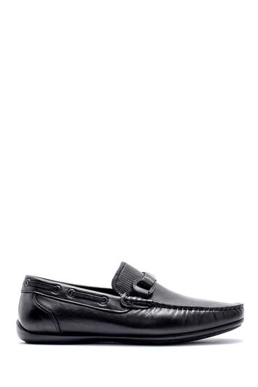 Siyah Erkek Deri Loafer 5638124833