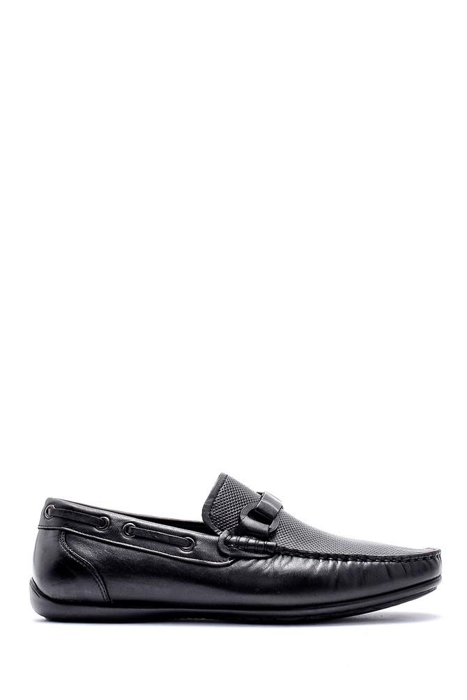 Siyah Erkek Deri Loafer 5638124853