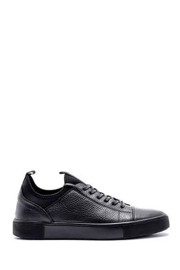 Siyah Erkek Deri Sneaker 5638127224