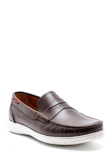 Kahverengi Erkek Deri Loafer 5638127248
