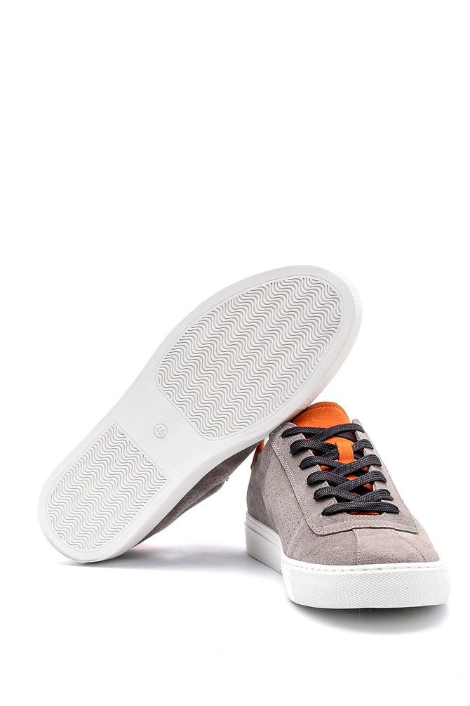 5638143965 Erkek Nubuk Deri Sneaker