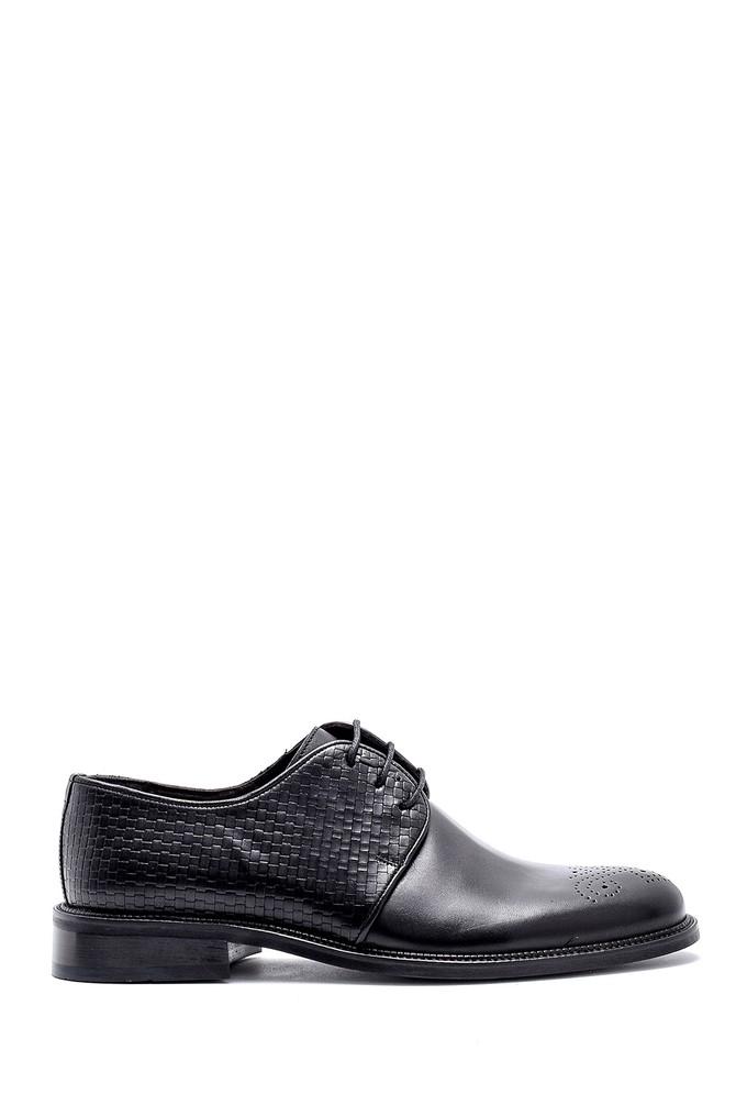Siyah Erkek Deri Klasik Ayakkabı 5638149670