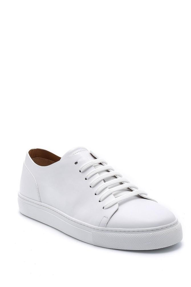 5638159139 Erkek Deri Sneaker