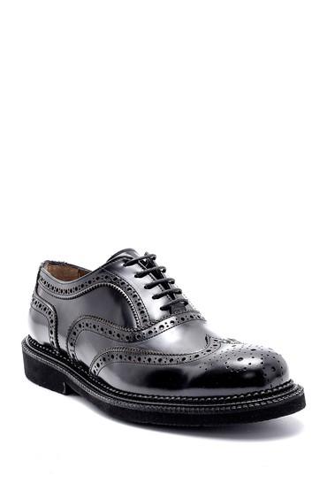 Siyah Erkek Deri Casual Ayakkabı 5638162612