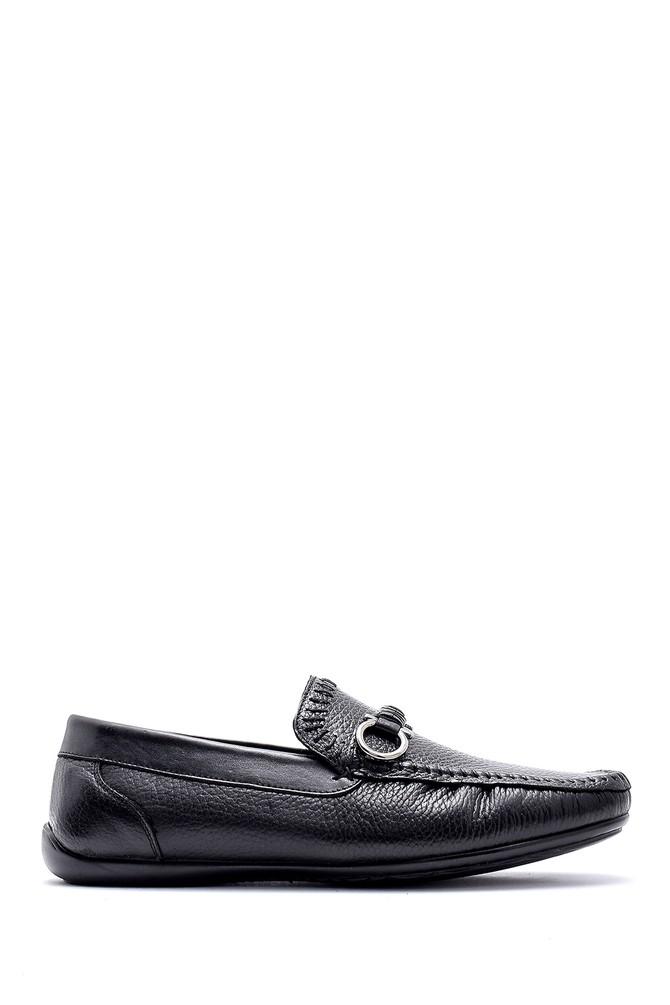 Siyah Erkek Deri Casual Loafer 5638124901