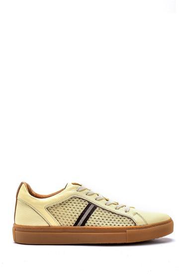 Bej Erkek Deri Sneaker 5638127167
