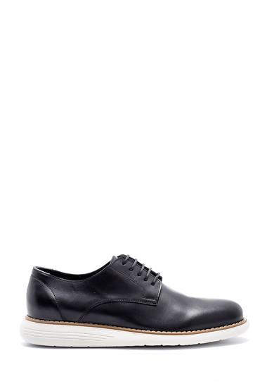 Siyah Erkek Deri Ayakkabı 5638143289