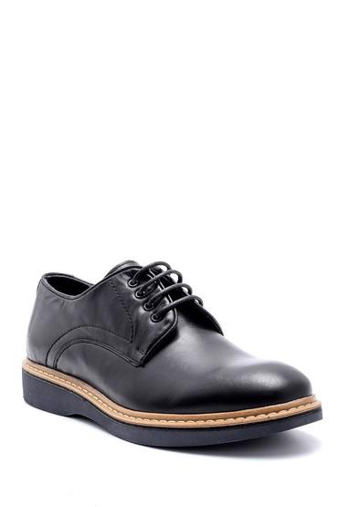 Siyah Erkek Deri Ayakkabı 5638144108