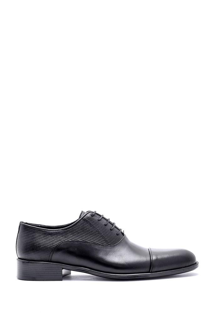 Siyah Erkek Deri Klasik Ayakkabı 5638145920