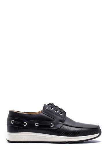 Siyah Erkek Deri Casual Ayakkabı 5638148450