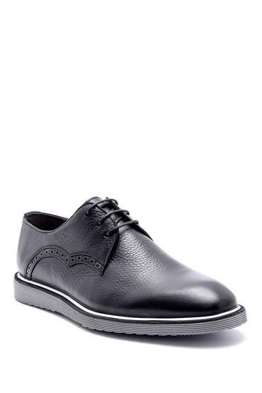 Siyah Erkek Deri Casual Ayakkabı 5638148990