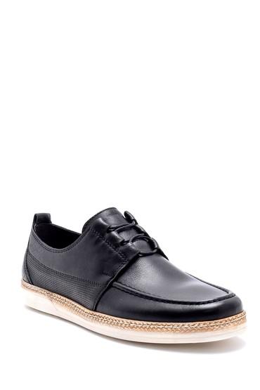 Siyah Erkek Deri Casual Ayakkabı 5638155156