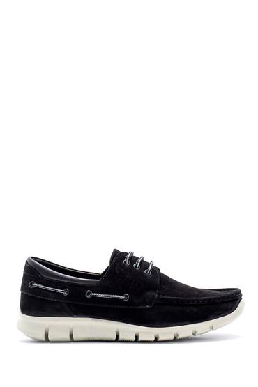 Siyah Erkek Nubuk Deri Ayakkabı 5638155487