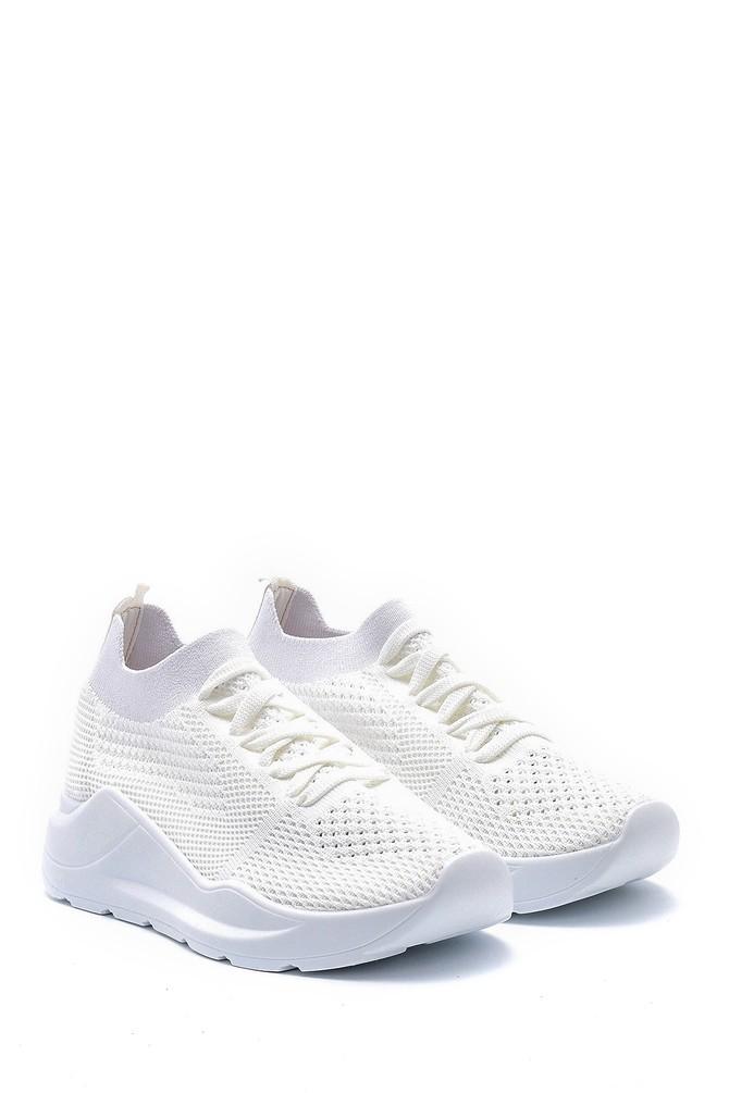 5638142119 Kadın Bağcıklı Çorap Sneaker
