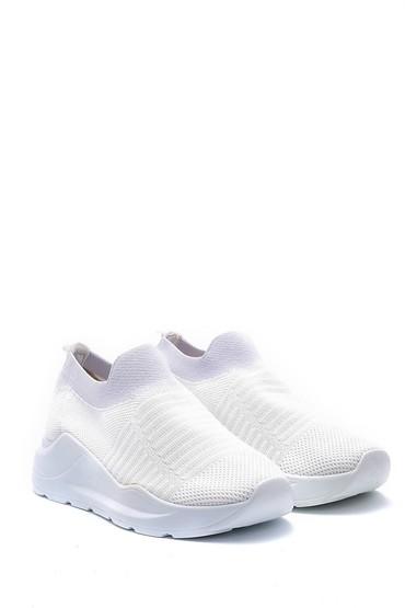 Beyaz Kadın Çorap Sneaker 5638142147
