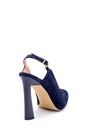 5638161297 Kadın Süet Deri Topuklu Ayakkabı