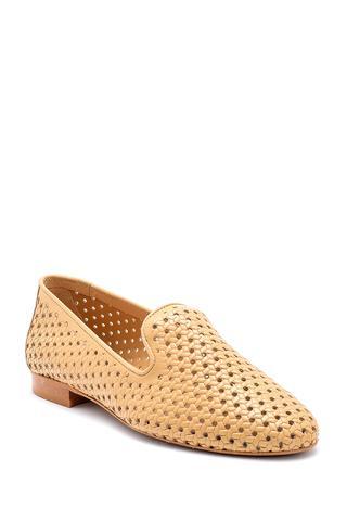 Kadın Deri Loafer