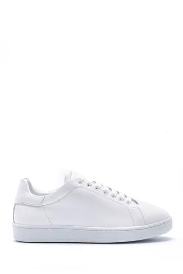 Beyaz Kadın Deri Sneaker 5638167594