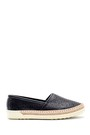 5638121472 Kadın Hasır Detaylı Ayakkabı
