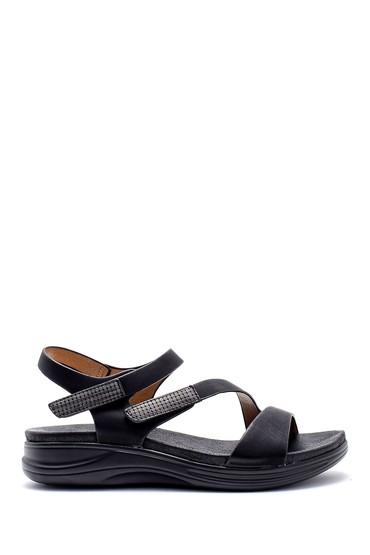 Siyah Kadın Sandalet 5638125004