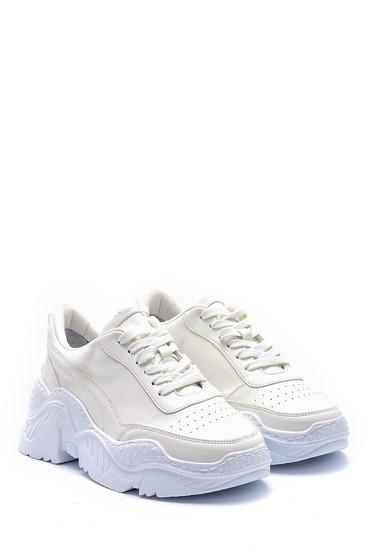Beyaz Kadın Sneaker 5638180337