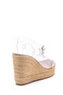 5638153307 Kadın Şeffaf Dolgu Topuklu Sandalet