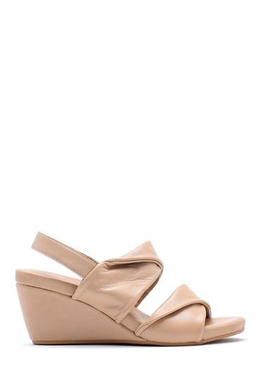 Vizon Kadın Dolgu Topuklu Sandalet 5638154960