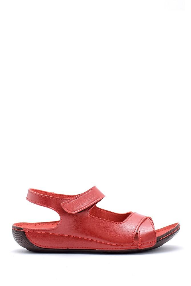 Kırmızı Kadın Sandalet 5638160088