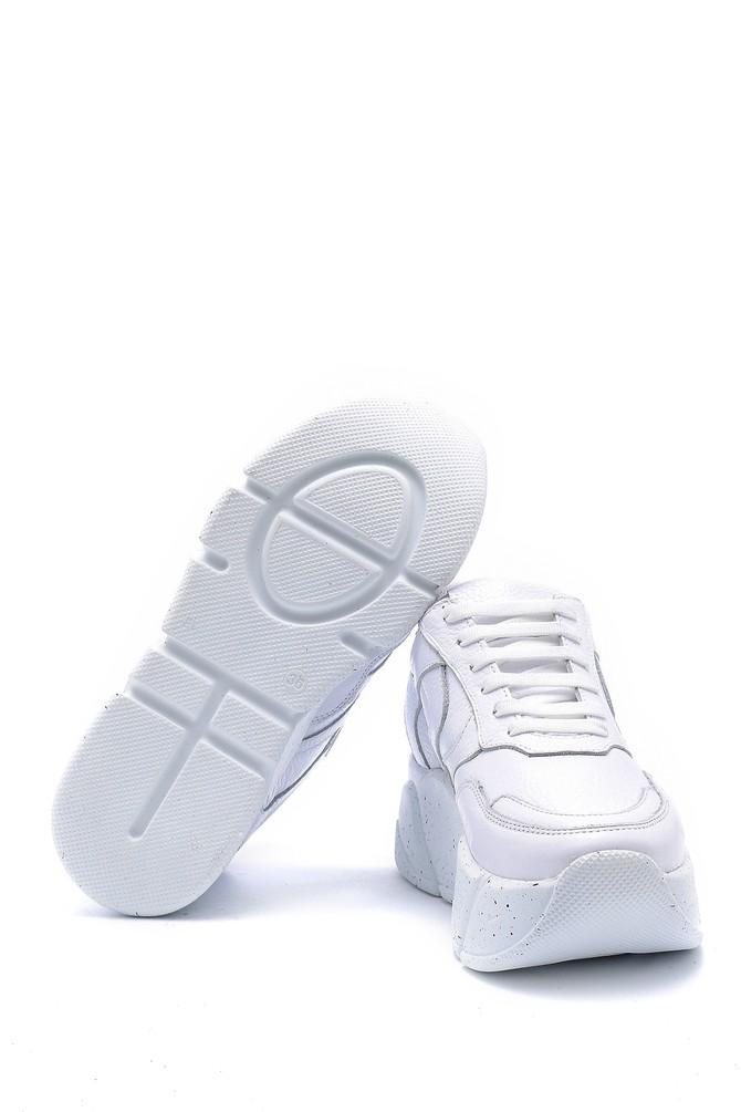 5638148304 Kadın Deri Sneaker