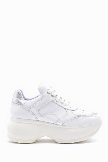 5638167636 Kadın Deri Sneaker