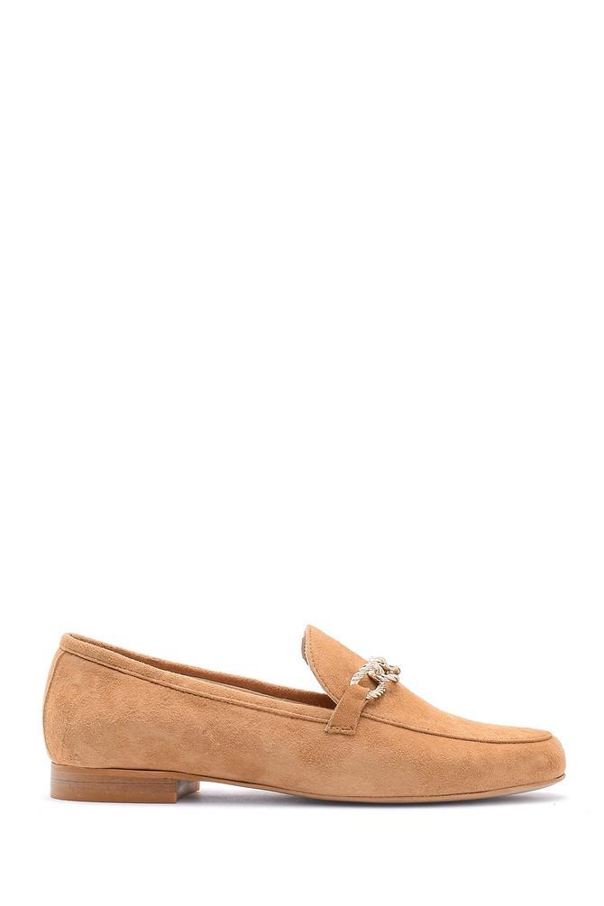 Kahverengi Kadın Deri Loafer 5638161862