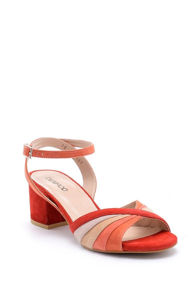 5638162445 Kadın Kalın Topuklu Ayakkabı