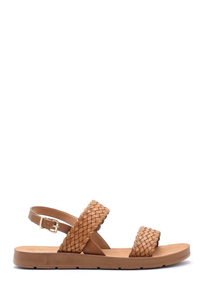 Kahverengi Kadın Sandalet 5638126090