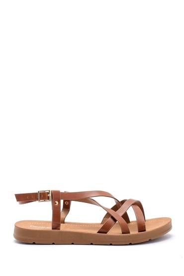 Kahverengi Kadın Sandalet 5638126103
