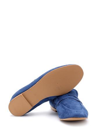 Kadın Süet Deri Loafer