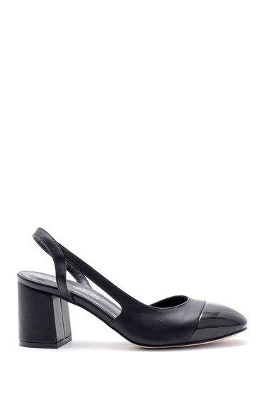 5638155046 Kadın Kalın Topuklu Ayakkabı