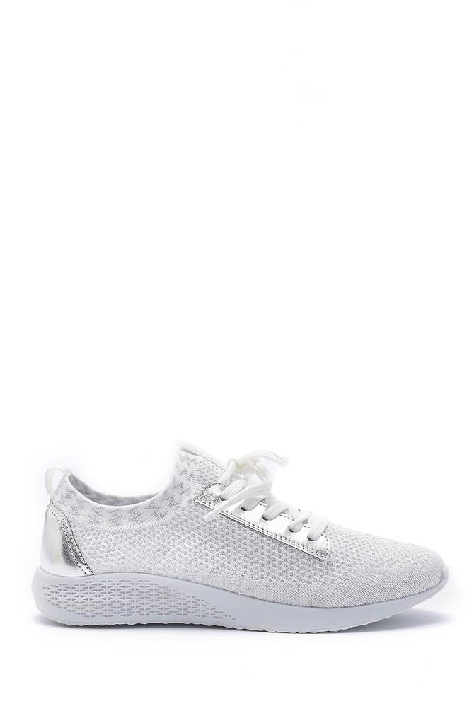 Beyaz Kadın Çorap Sneaker 5638142176
