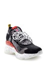 5638175088 Kadın Yüksek Tabanlı Deri Sneaker