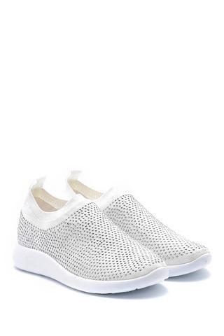 Kadın Taş Detaylı Çorap Sneaker