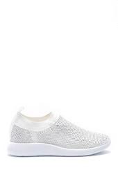 5638176490 Kadın Taş Detaylı Çorap Sneaker