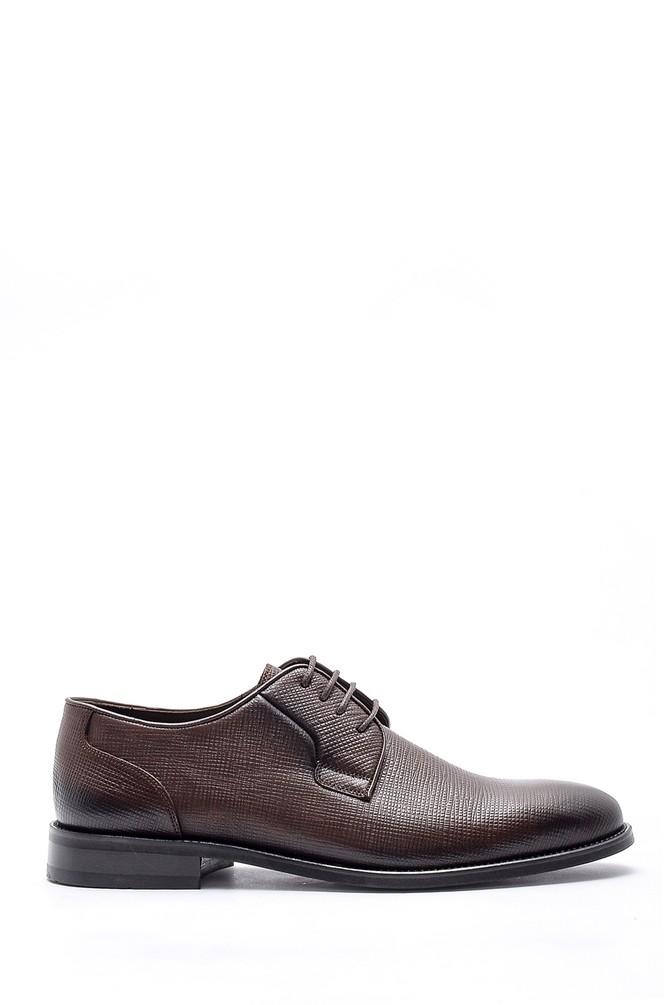 Kahverengi Erkek Deri Klasik Ayakkabı 5638149945
