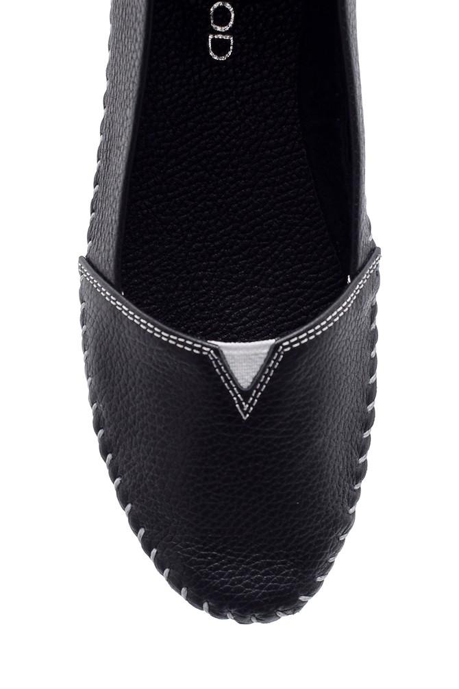 5638151738 Kadın Deri Ayakkabı