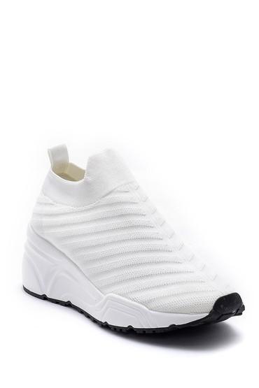 Beyaz Kadın Çorap Sneaker 5638166351