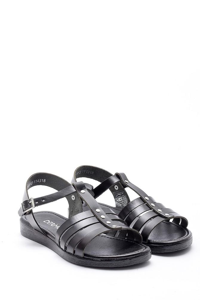 5638161795 Kadın Deri Sandalet