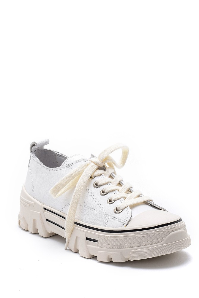 5638175201 Kadın Deri Sneaker