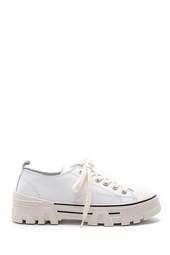 5638175193 Kadın Deri Sneaker