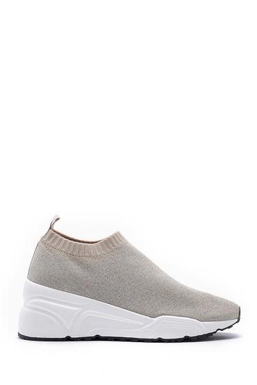 Bej Kadın Çorap Sneaker 5638123537