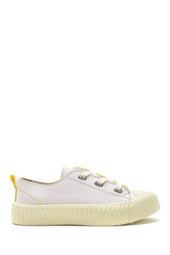 5638182018 Kadın Deri Sneaker