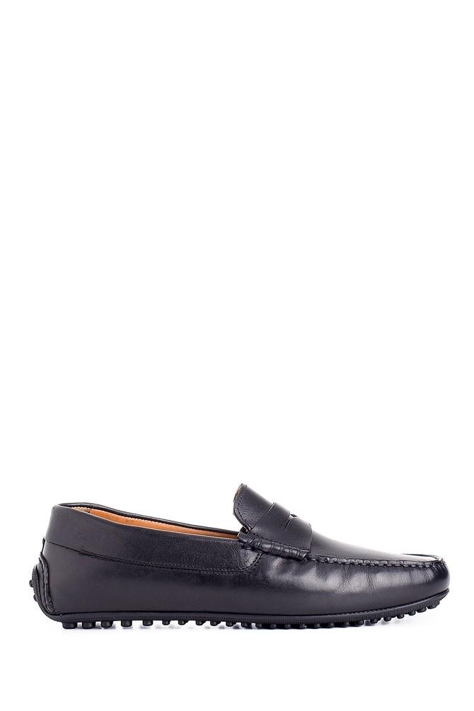 Siyah Erkek Deri Casual Loafer 5638127468